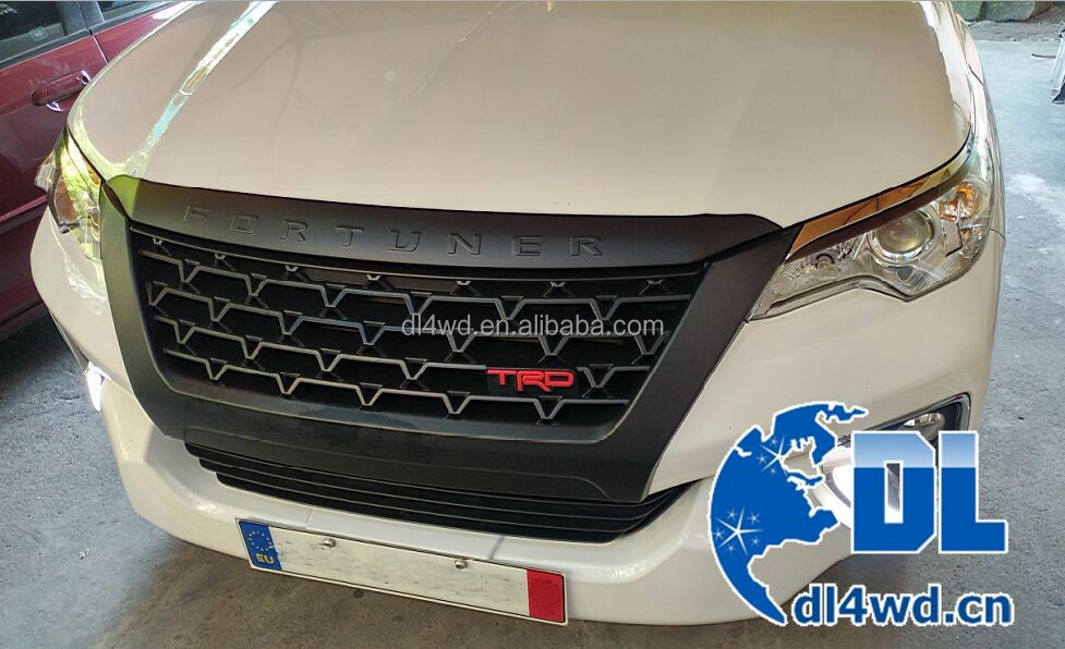 Chrome front grill for toyota fortuner 2016 accessories