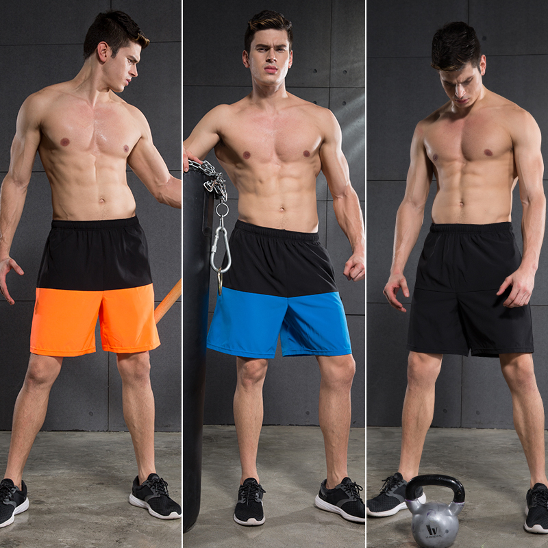 Wholesale Men's GYM Short Pants <strong>Sports</strong> Running Short Leggings Workout Shorts