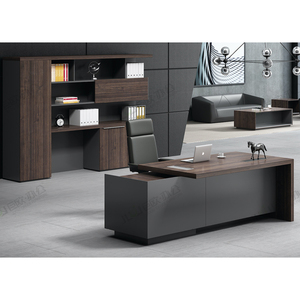 Modern Design Ceo Boss Manager Executive Office Desk For Wood Office Furniture