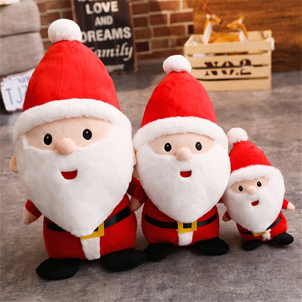 Welding Equipment Responsible 1pc Xmas Plush Santa Claus Toy Singing Decorative Stuffed Light Up Glowing Toy Doll For Kids Christmas Gift Xmas Party Favors