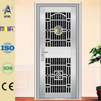 Afol Morden Design Inside Glass Stainless Steel Front Door Buy