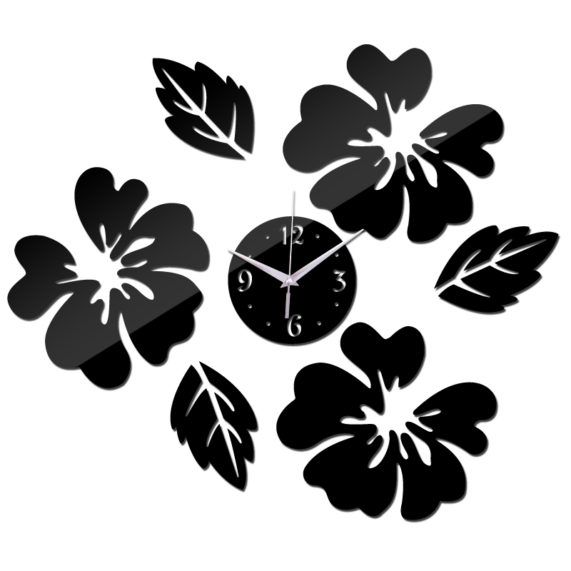 2016 New Quartz Watch Wall Clock Acrylic Horloge Clocks Modern Design Large Decorative Living Room Multi