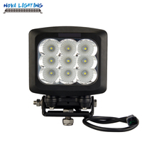 12V LED Tractor Work Light 5*6 inch Headlight Square LED Offroad Light 90W