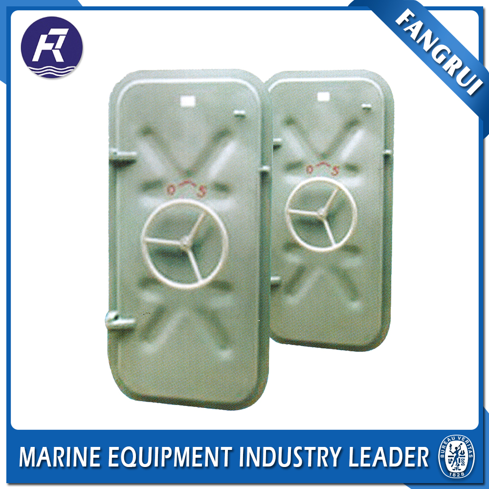Professional design iron gate stainless steel watertight used watertight doors for marine use