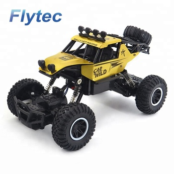 Flytec SL - 109A RC Car Remote Control Racing Car 2.4Ghz High Speed Rock Off Road Vehicle 1 : 20 2WD Radio Cars Toys RTR (Gold)