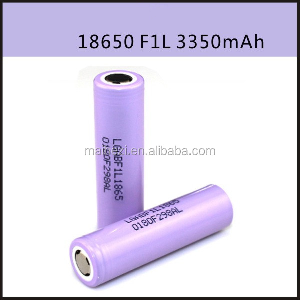 charger Battery 18650 in stock wholesale price 18650 3350 mah Li-ion battery