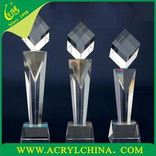 2015 Plastic trophy parts, metal replica oscar trophy awards, plastic world cup trophy