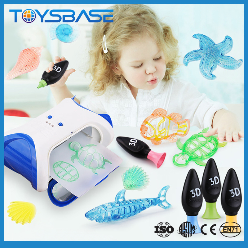 New arriving 3D Toy Forming painting Machine educational toy