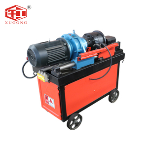 Deformed Humanization Rebar Thread roll Machine