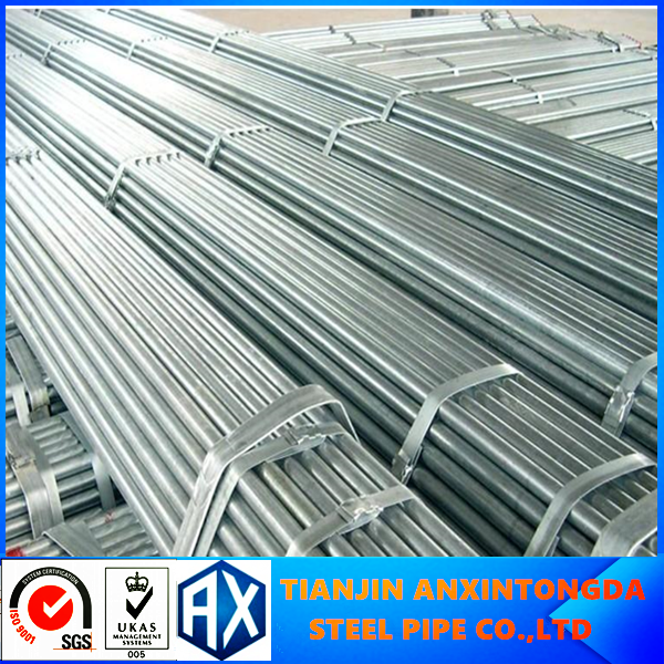 4 inch ERW Steel API 5L Grade X-46 MS 3 Layer PF Coated Steel Line Pipe in Tianjin