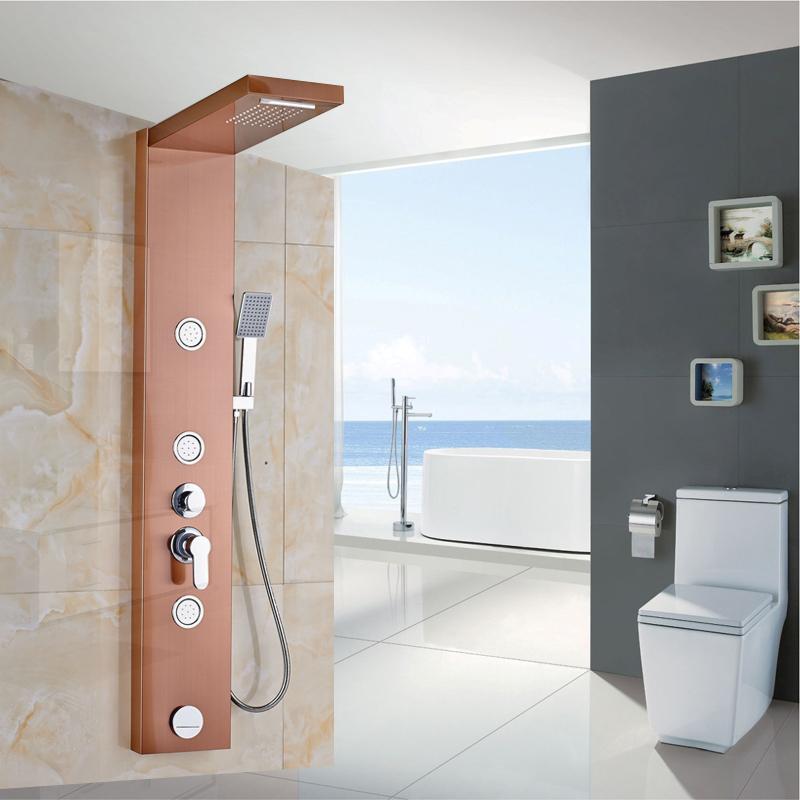 douche a jet massage maison design. Black Bedroom Furniture Sets. Home Design Ideas