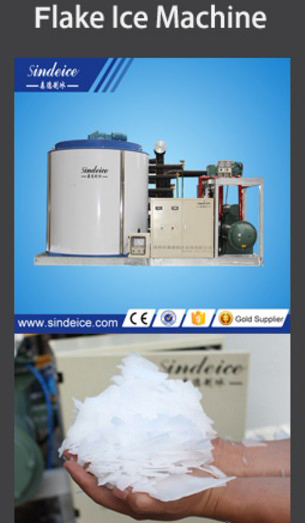 Free Standing CE new Flake Ice making Machine
