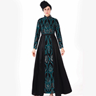 2019 high quality Islamic Women Clothing Jilbab Muslim Abaya.Long Robe Evening Gown muslim party dress
