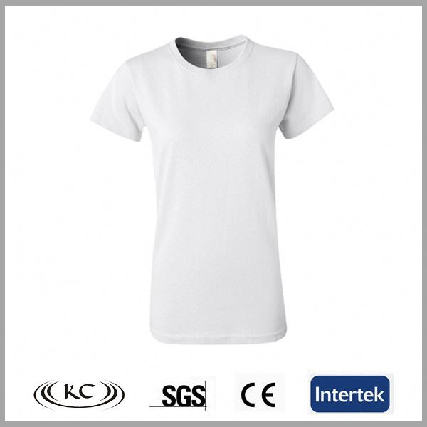 wholesale high quality fashion blank silk women baby tees