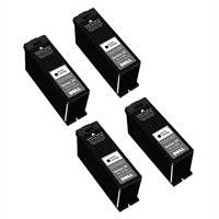 AIM Compatible Replacement - Dell P513/V313/515/715W Black Inkjet (4/PK) (Series 21) (4BSRS21) - Generic