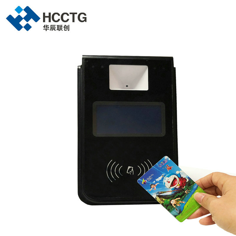 4.3 inch LCD Rfid Contactless NFC Bus Card Validator For Bus Fare Collect System P18-L2