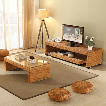 Professional Customized Hot Sale Rattan TV Stand Living Room ...