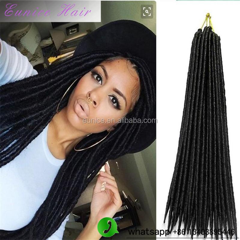 2016 Dread Locks Crochet Braid Hair Extension Type 2x Mambo Havana