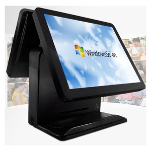 Dual Screen 15 inch Pos Terminal/Pos System/ Epos All In One Pos Capacitive Touch Screen