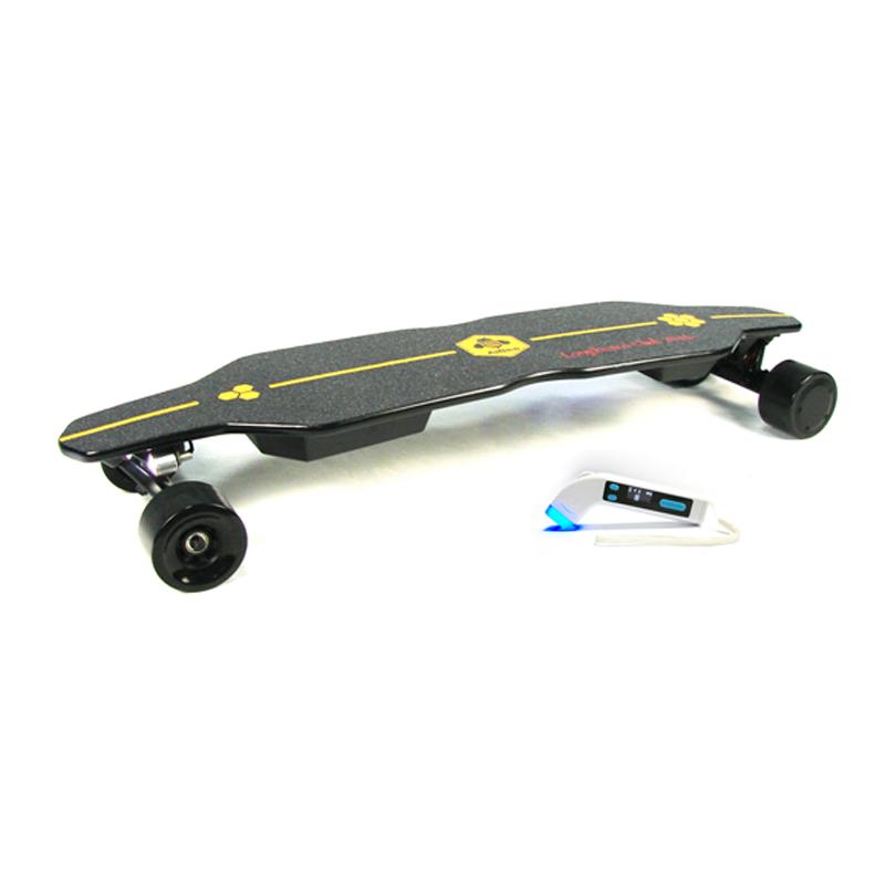 wholesale drop 1000w cheap diy hub motor bamboo complete surf e skate board electric longboard off road