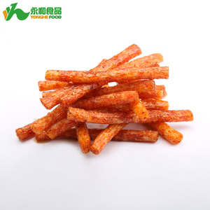 Yonghe Bulk Hunan Style Spicy Wheat Gluten Latiao for Indonesia Snack
