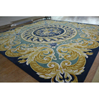 soft touching luxury oriental design carpet