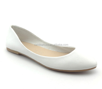 low heeled wedding shoes white