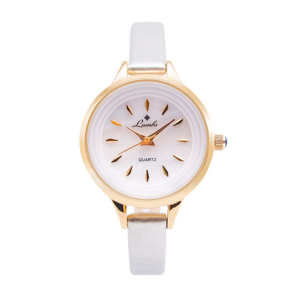 XINYIXING Ladies Watches, Waterproof Casual Fashion Watches for Women,Wrist Watches Easy to Read Times Leather Band Strap Girls Watch(Silver)