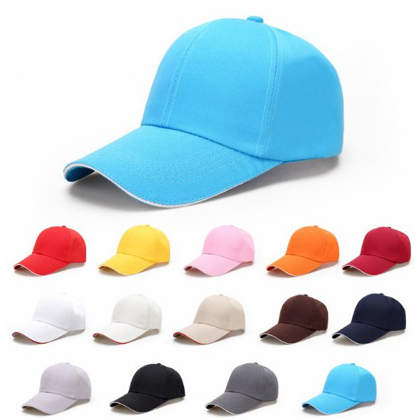 Promotion design cheap 6 panel men hats solid blue sports baseball caps no  logo aa8e910d459