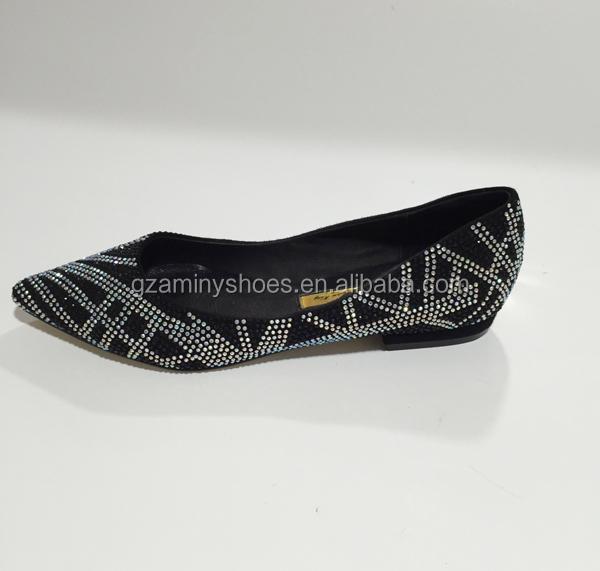 China leather crystals shoes quality ladies rq4W1Rwar