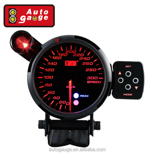 80 mm LED Light Auto Gauge Car Speedometer