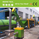 HDPE milk bottle flakes washing recycling line
