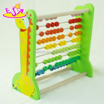 Niños De Niños Madera Para madera Colorido juguetes Bebé Matemáticas Marco Los Ábaco Educativos Juguete j4qL35AR