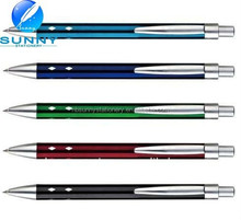 smooth writting cheapest pen metal for school use .metal pen clips