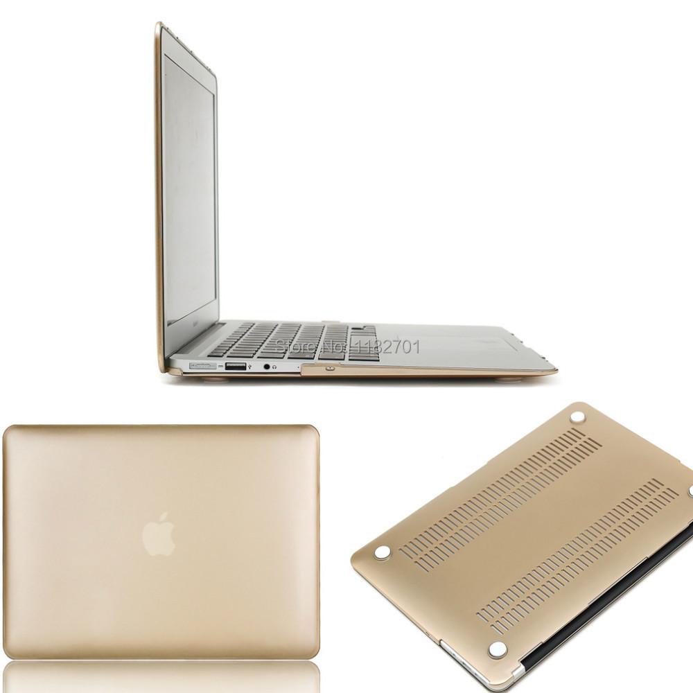 for apple macbook air 11 6 golden color case cover for. Black Bedroom Furniture Sets. Home Design Ideas