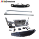 2011-2015 PP plastic RS7 side skirts rear bumper lip facelift car front bumper conversion body kit for Audi A7 S7 Sline