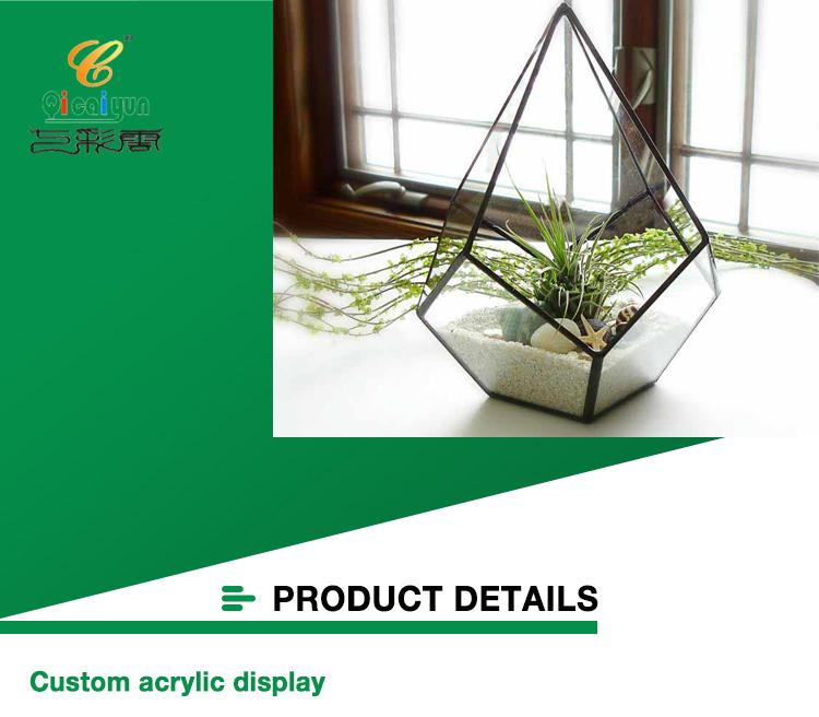 Terrarium Acrylic Geometric Terrarium-2 Details