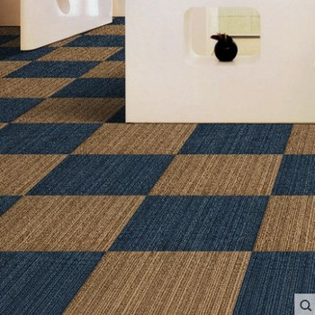 Office Floor Nylon Carpet Tiles - Buy Rubber Backed Carpet Tiles ...
