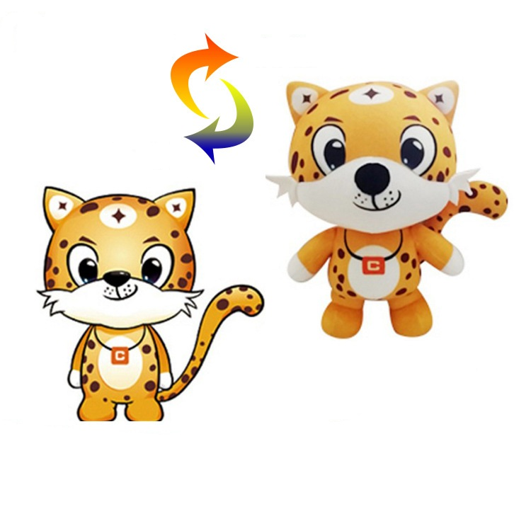 CE ASTM OEM ODM custom made plush Toy Stuffed Animal make your own plush toy For Kids Company gifts and Couples doll