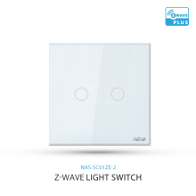 868mhz/908mhz z wave alliance certified EU US 1gang 2gang 16A max wireless zwave light switch for lights remote control