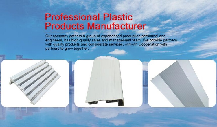 Factory direct sales cheap price Flooring U Shaped Plastic Pvc Profile