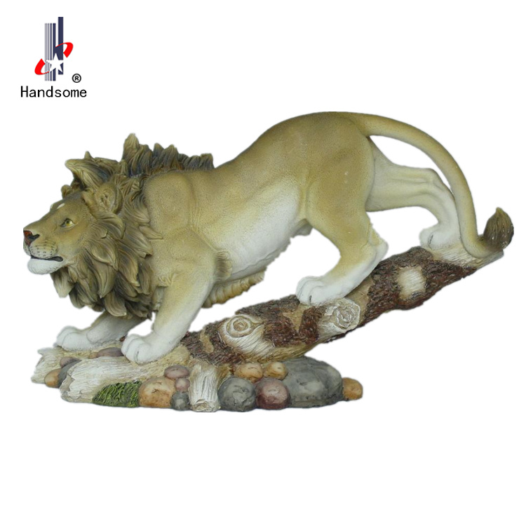 Home Decor Poly Nice Indoor Animal Lion Statues For Sale