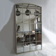 Silver Color Dressing Antique Stand Mirror