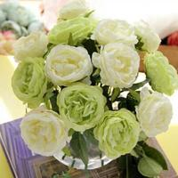 Wedding decoration yard home party romantic rose artificial flowers