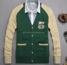 wholesale custom boyfriend cardigan young cardigan college cardigan