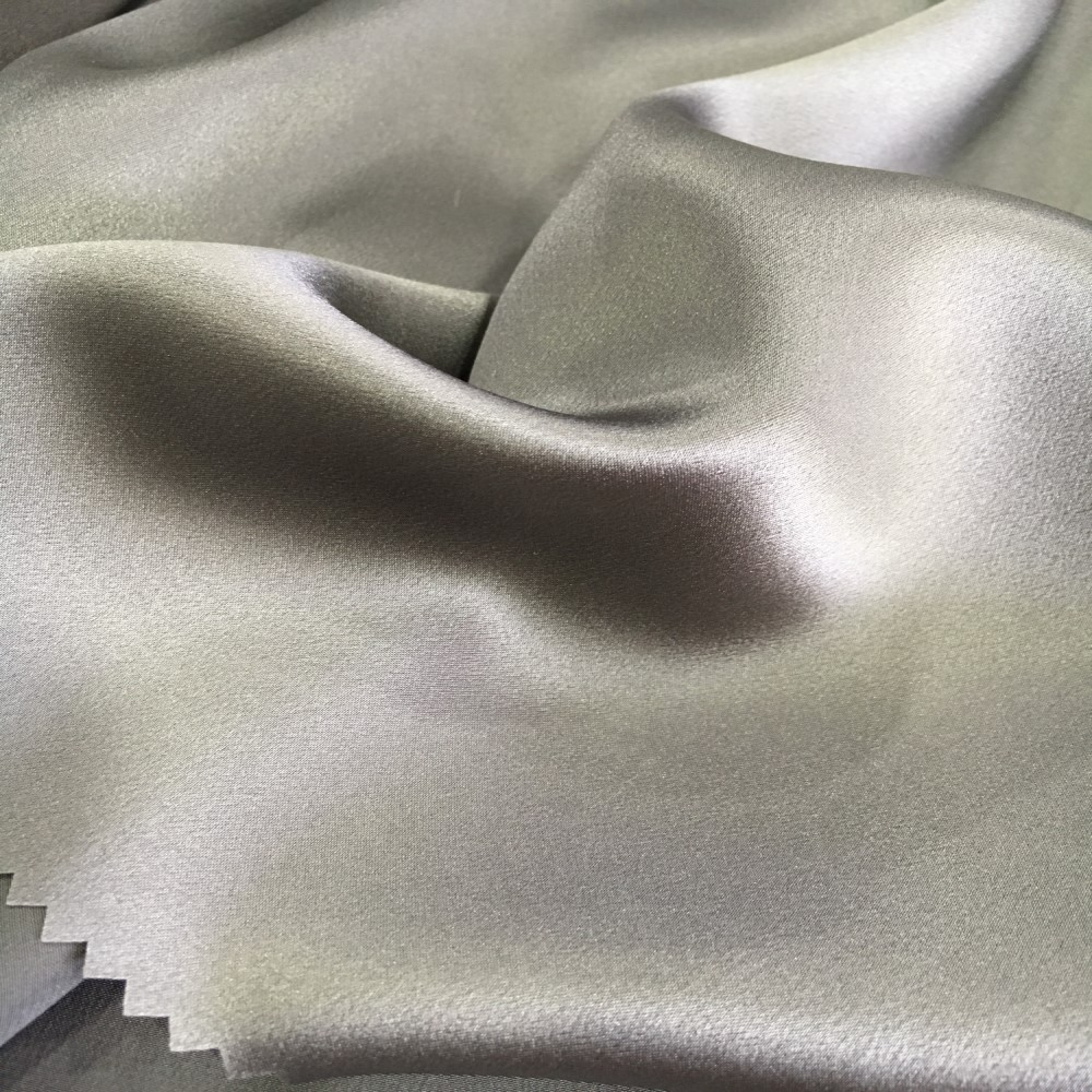 Home & Garden 40mm Silk Double-sided Heavy Satin Fabric Luxury Jewelry Fashion Dress Silk Fabric Wholesale Silk Cloth For Fast Shipping Fabric