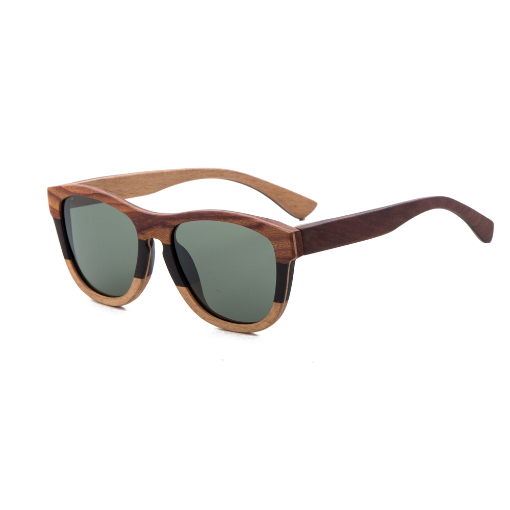 Alibaba.com / Multi color Custom wooden sunglasses from China manufacture for dropshipping