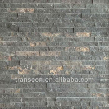 Natural Travertine Cultured Stone Tile Wall Decoration
