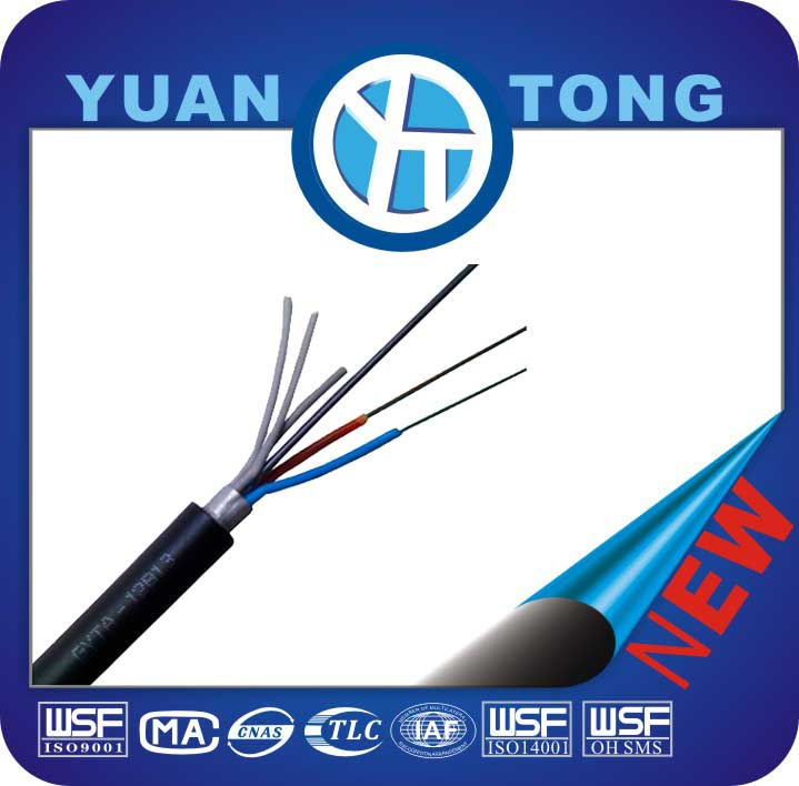 Chinese Stranded Single Mode Optic Fiber Cable GYTA