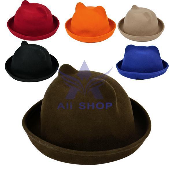 221f99fecbc Get Quotations · 8 Color 2014 New Fashion Winter Women s Unique Cute  Novelty Cat Ears Hat Fur Hats With